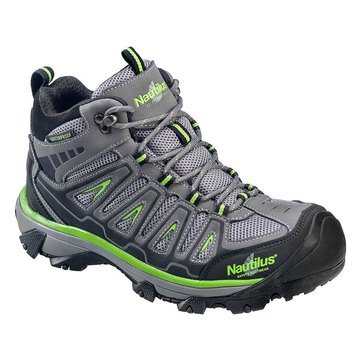 Footwear Specialties Nautilus-Men's Waterproof Steel Toe Hiker-Brown