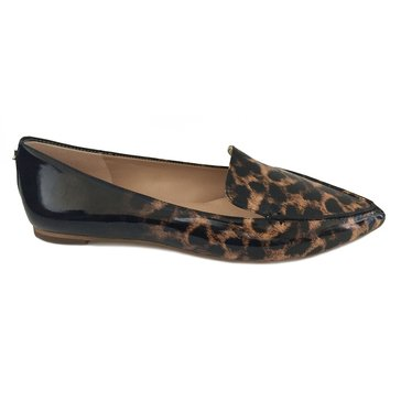 Karl Lagerfeld Destine8 Women's Pointed Flat Shoe Natural/Black