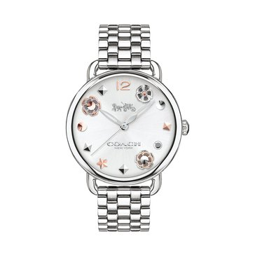 Coach Women's Charm Dial Stainless Steel Watch, 36mm