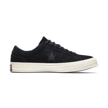 Converse One Star-Ox Men's Basketball Shoe - Black / Black / Egret