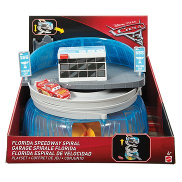 Disney Pixar Cars 3 Florida Speedway Spiral Playset