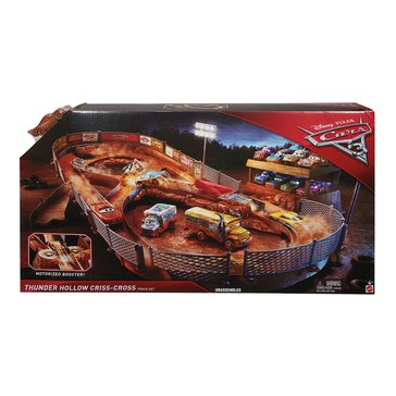 Disney Pixar Cars 3 Thunder Hollow Criss-Cross Track Set