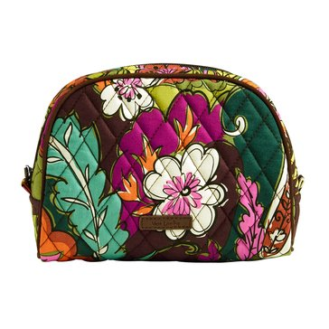 Vera Bradley Medium Zip Cosmetic Autumn Leaves