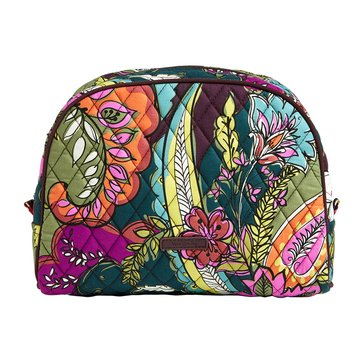 Vera Bradley Large Zip Cosmetic Autumn Leaves