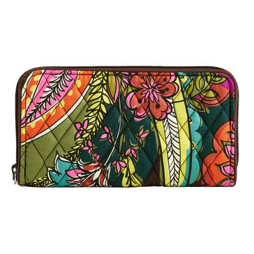 Vera Bradley Georgia Wallet Autumn Leaves