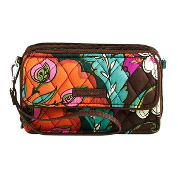 Vera Bradley All In One Crossbody Autumn Leaves