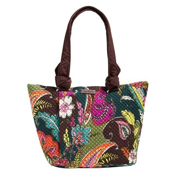 Vera Bradley Hadley East West Tote Autumn Leaves