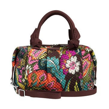 Vera Bradley Hadley Satchel Autumn Leaves