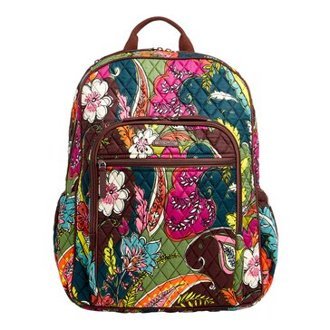 Vera Bradley Campus Tech Backpack Autumn Leaves