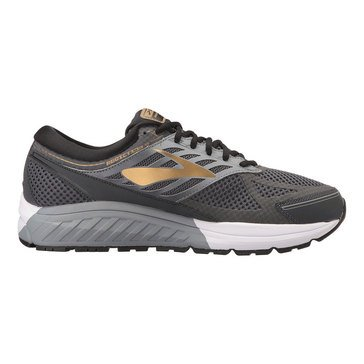 Brooks Addiction 13 Men's Running Shoe - Black / Ebony / Metallic Gold