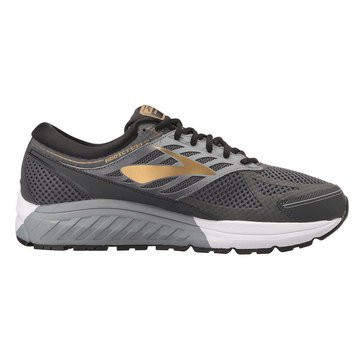 Brooks Addiction 13 EE Men's Running Shoe - Black / Ebony / Metallic Gold