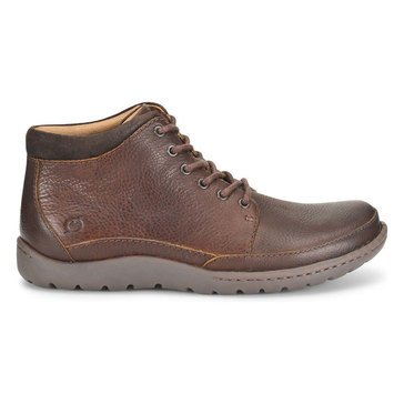 Born Men's Nigel Men's Casual Chukka Boot Dark Brown