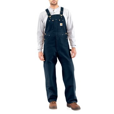 Carhartt Men's Duck Bib Overalls - Navy / Long