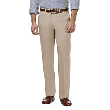 Haggar Premium No-Iron Straight Fit Khaki Pants