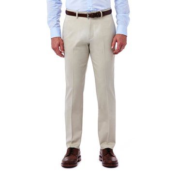 Haggar Premium No-Iron Slim Fit Khaki Pants