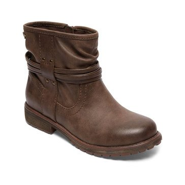 Roxy Aiza Girls Casual Boot Chocolate