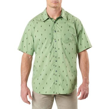 5.11 Men's Five-O Covert Shirt - Bright Green