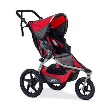 BOB Revolution Flex Jogging Stroller, Red