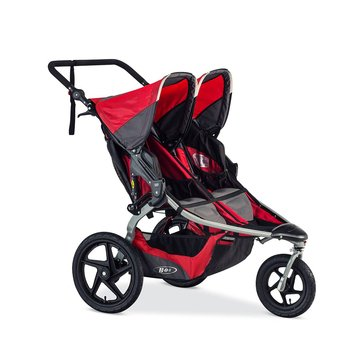 BOB Revolution Flex Duallie Jogging Stroller, Red