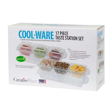 CreativeWare Cool-Ware 17-Piece Ultimate On Ice Serving Set
