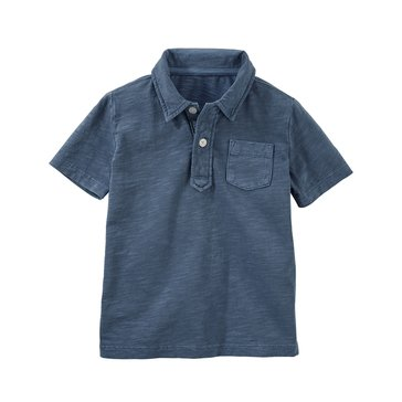 Oshkosh Little Boys' Polo, Blue