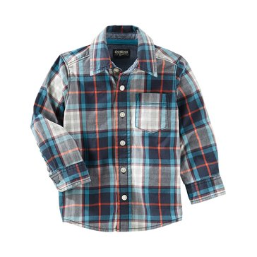 Oshkosh Little Boys' Shirt, Plaid