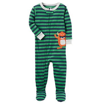 Carter's Toddler Boys' 1-Piece Monster App Pajamas