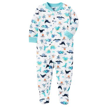 Carter's Toddler Boys' 1-Piece Poly Multi Dino Pajamas