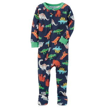 Carter's Toddler Boys' 1-Piece Multi Dino Pajamas