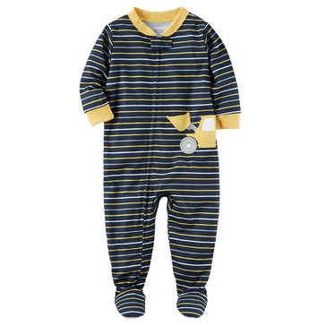 Carter's Toddler Boys' 1-Piece Poly Construction Pajamas