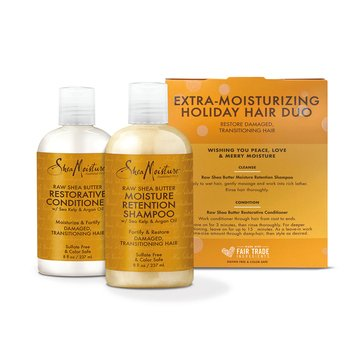 Shea Moisture Raw Shea Winter Revival Re-Hydrating Gift Set