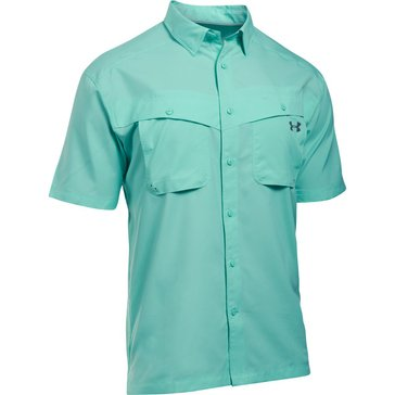 Under Armour Men's Tide Chaser Short Sleeve Shirt - Mint