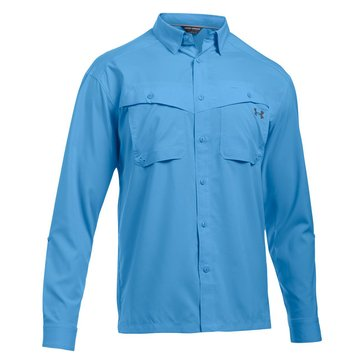 Under Armour Men's Tide Chaser Long Sleeve - Blue