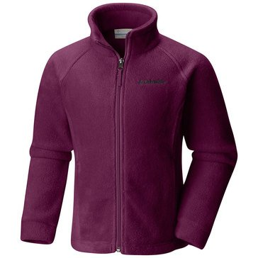 Columbia Toddler Girls' Benton Springs Fleece Jacket, Raspberry