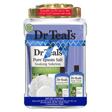 Dr Teal's Eucalyptus Container Gift Set
