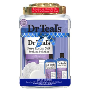 Dr Teal's Lavender Container Gift Set