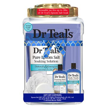 Dr Teal's Detox Container Gift Set