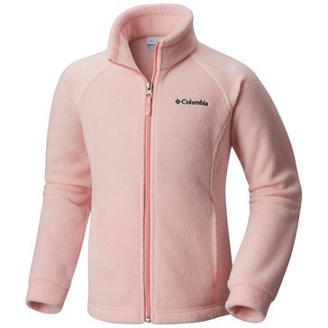 Columbia Little Girls' Benton Springs Fleece Jacket, Pink