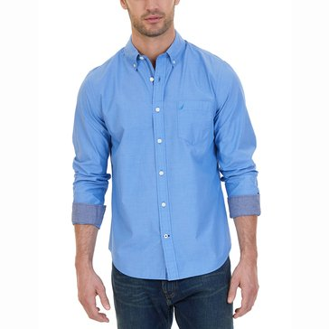 Nautica Solid End On End Sportshirt
