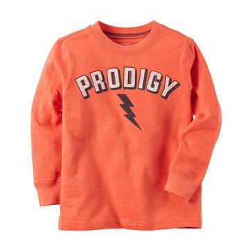 Carter's Little Boys' Prodigy Tee, Orange