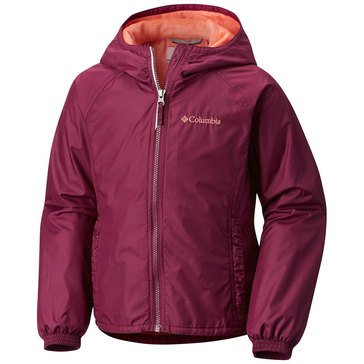 Columbia Big Girls' Ethan Pond Jacket, Raspberry