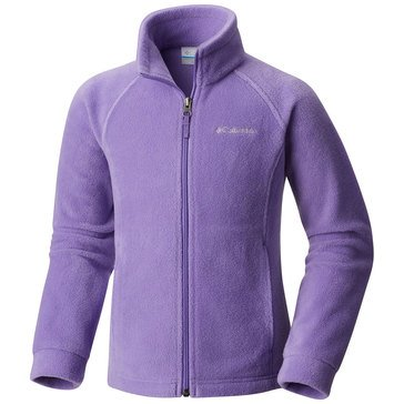 Columbia Big Girls' Benton Springs Fleece Jacket, Grape Gum