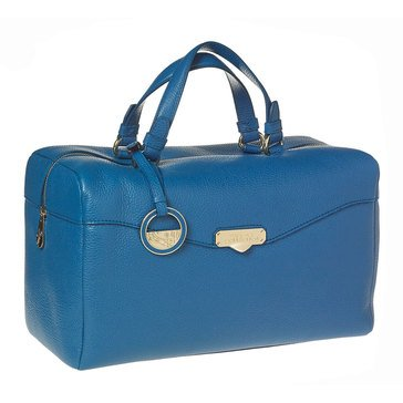 Versace Satchel Blue