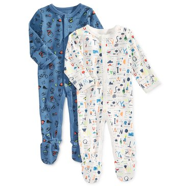 Rosie Pope Baby Boys' 2-Pack Coveralls