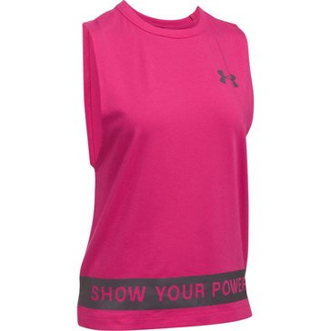 Under Armour Women's Power In Pink Tank - Show Your Power