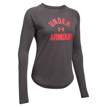 Under Armour Women's Triblend Long Sleeve Graphic Shirt