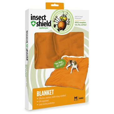 Insect Shield Dog Blanket Orange, 56