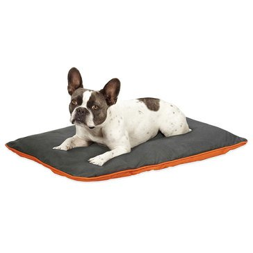 Insect Shield Bug Repellent Reversible Dog Bed Orange/Slate, Large