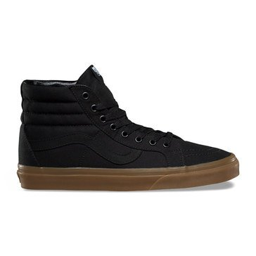 Vans SK8-Hi Reissue Men's Skate Shoe - Black / Light Gum (CanvasGum)