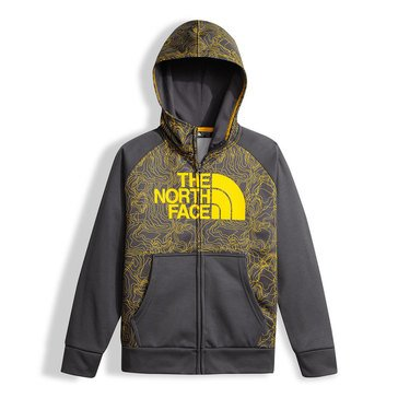 The North Face Big Boys' Surgent Pullover Hoodie, Graphite